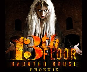 Scottsdale haunted houses your guide to halloween in for 13th floor haunted house in phoenix